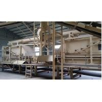 Quality Wheat Straw Magnesium Oxide Board Production Line Fully Automatic High Speed for sale