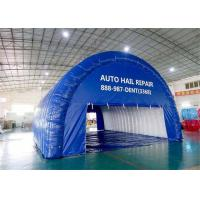 Buy cheap Event Large Inflatable Tents , Custom Blue Airtight Inflatable Tunnel Tent from wholesalers