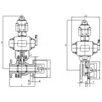 Quality Pneumatic regulate ball valve for sale