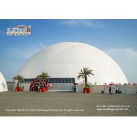 Buy cheap UV Resistant 60m Geodesic Dome Tent With AC For 2500 People Capacity from wholesalers