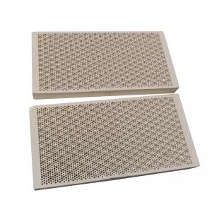 Buy cheap Porous Honeycomb Ceramic Infrared Gas Burner Plate For Oven , Customized product