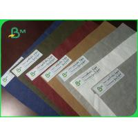 China New Type Environmental Custom Size Washable Kraft Paper Fabric For Gift Bag on sale