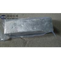 Buy cheap MgSc 30 Alloy master alloy ingot Magnesium Rare Earth Alloy product