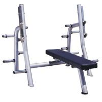 Quality High Performance Power Exercise Equipment Flat Press Bench With Smooth Outline for sale