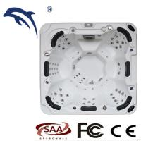 Buy cheap Wholesale outdoor 7 Person Hot Tub Ponfit spa massage funtion product