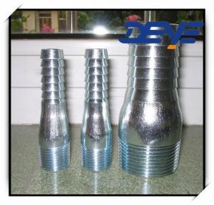 Buy cheap Entrerrosca galvanizada de rey Nipple ZInc Plated Combination product