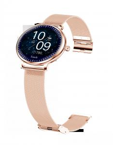 "Buy cheap Ladies Round Screen 1.08"" Blood Pressure Heart Rate Smart Watch product"