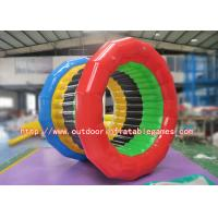 Buy cheap Amusement Park Inflatable Zorb Ball Water Roller With Hot Welding Technique product