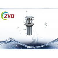 Buy cheap Kitchen Bathroom Sink Pop Up Drain , Effective Filtration Pop Up Drain Replacement product
