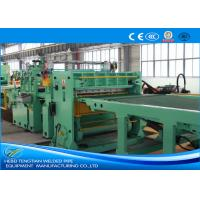 Buy cheap Blue Colour Cut To Length Line 100m / Min Cutting Speed High Efficiency product