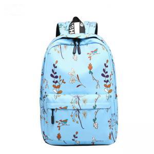 Blue Pink Purple Color Trendy School Backpacks Student School Bag For Teens