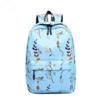 Quality Blue Pink Purple Color Trendy School Backpacks Student School Bag For Teens for sale