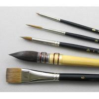 Buy cheap New artist brush set, best oil painting brush,12pcs per set bristle brush from wholesalers