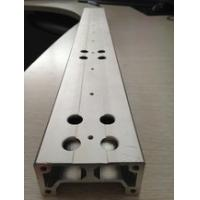 Aluminium Extrusion Custom Machined Parts With Drilling And Tapping for sale