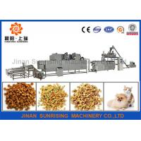 Buy cheap Fully Automatic Pet Food Processing Line , PLC Control Pet Food Processing Equipment product