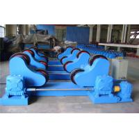 Buy cheap Self Alignment Pipe Turnig Rolls U Type Open Mouth Welding Rotate Tanks Welding Rotator With Remote Control Box product