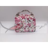 Aluminum Lining Travel Cooler Bag Special Printing Design For Office Workers / Students