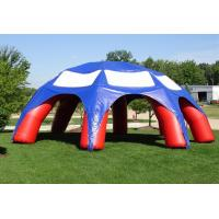 Buy cheap Customized 10m Inflatable Spider Tent Dome Inflatble Tent With 6 Legs product