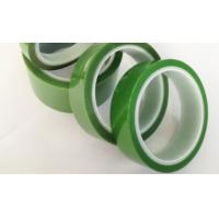 Buy cheap 55um PET Silicone Tape Radiation resistance characteristic for spraying powder product