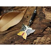 beautiful Colorful Butterfly Mobilephone Hanging Ornament,discount fashion jewelry #676