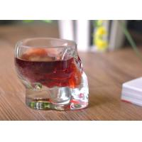 Buy cheap Stemless Lead Free Cut Glass Shot Glasses 65ml Glassware For Bar Party product