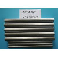Buy cheap FeCo27 ASTM A801 Soft Magnetic Materials With High Magnetic Saturation product