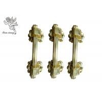 Quality Funeral Golden Casket Handle Hardware , PP Recycle Plastic Wholesale Coffin for sale