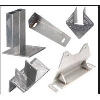 Buy cheap stamped big metal workpiece for machine large parts product