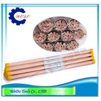 Multi Hole EDM Electrode Copper Tube 1.5mm Copper Pipe For EDM Drilling Machine