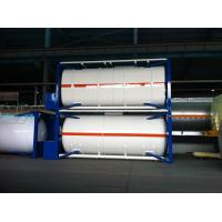 Buy cheap ISO 30Ft , 40Ft Liquid Storage Tank Container Stainless Steel For Logistic Shipping product