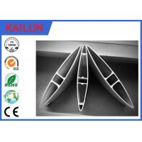 Quality Powder Coated Aluminum Window Shutters Exterior Extrusion Profiles , Adjustable for sale