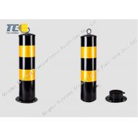 Buy cheap Durable Removable Security Bollard Telescopic Barrier Posts 900mm Height from wholesalers