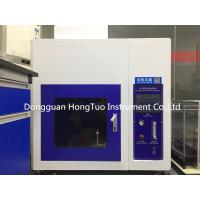 Buy cheap Horizontal Vertical Combustion Testing Equipment Burn Resistance Measurement from wholesalers