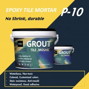 Buy cheap P-10 Cementitious Epoxy Mortar Grout Smooth Paste Appearance TAL Replacement product