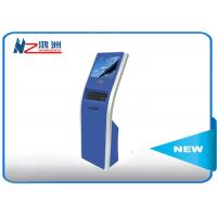 Buy cheap 17 inch automatic free standing kiosk touch queuing Customized Color product