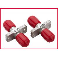 Buy cheap Red Variable Optical Attenuator / Small Lc Optical Attenuator 1 Watt from wholesalers