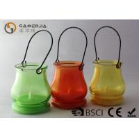 China Customized Glass Jar Lights , Glass Jar Lanterns Color Changing wholesale