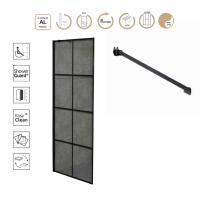 Buy cheap 8mm Tempered Glass Walk in Shower Door product