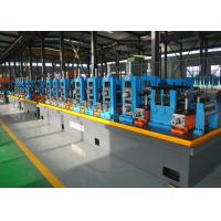 Buy cheap Blue ERW API Pipe Mill / High Frequency API Tube Welding Machine product