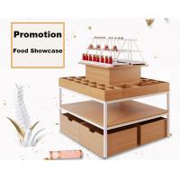 Buy cheap Modern Style Food Store Shelving Shop Display Tables 1000*1000*1350mm product
