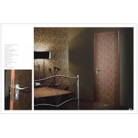 Buy cheap HS-18 Double Side Hinged Doors For Hotel, Bedroom Vertical Hinged Door With Carved HDF Board Factory product