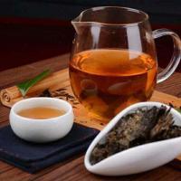 China Healthy Anhua Slimming Dark Tea Brick With Zinc And Selenium To Improve Immunity for sale