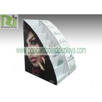 Buy cheap Cosmetic table displays cardboard cosmetic displays sunglasses displays with customized design  ENCD004 product
