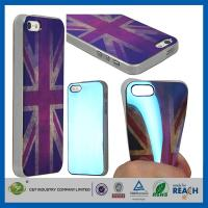 Buy cheap Las muchachas suaves del gel BRITÁNICO retro del estilo TPU forman las cajas durables del teléfono celular para Apple Iphone 5S product