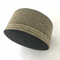 Quality 100% Polyethylene Plastic Chair Webbing , 40g/M Lawn Chair Webbing Material for sale