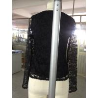 Quality 100% silk and lace women tops for sale