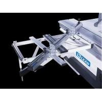Quality mini size furniture making sliding table saw, dual blades panel saw for sale