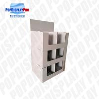 Buy cheap Store seasonal 2-tier Cardboard Quarter Pallet Display Stand to Promote Chocolates Snacks product