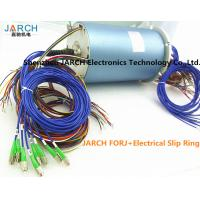 Buy cheap 12 Channels 36 Circuits Electrical Slip Ring Fiber Optic rotary union 200 - 400 from wholesalers