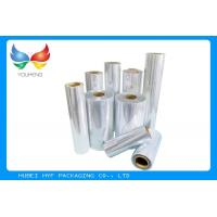 Buy cheap 1000 MM Clear Shrink Film , 35micron PVC Shrink Film For Sleeve Application product